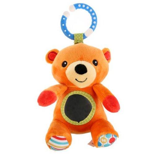 Купить Подвесная игрушка Fisher-Price Мишка (GH73094) оранжевый/голубой, Подвески
