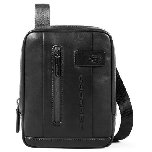 Сумка планшет PIQUADRO CA3084UB00, натуральная кожа, черный планшет