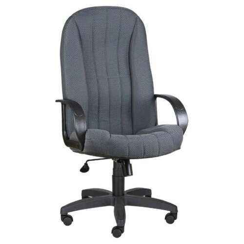 цена на Компьютерное кресло МЕБЕЛЬТОРГ Гармония ULTRA для руководителя, обивка: текстиль, цвет: Ткань В-3