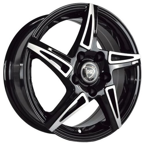 Фото - Колесный диск NZ Wheels SH661 6.5x16/4x98 D58.6 ET38 BKF колесный диск nz wheels sh661 6 5x16 5x114 3 d67 1 et38 bkf