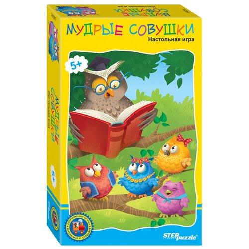 Купить Настольная игра Step puzzle Мудрые совушки, Настольные игры