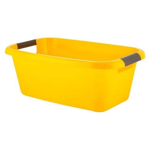 Таз Plast Team Lica PT1163 20 л желтый