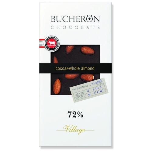 шоколад bucheron village горький с миндалем 100 г Шоколад Bucheron Village горький с миндалем, 100 г