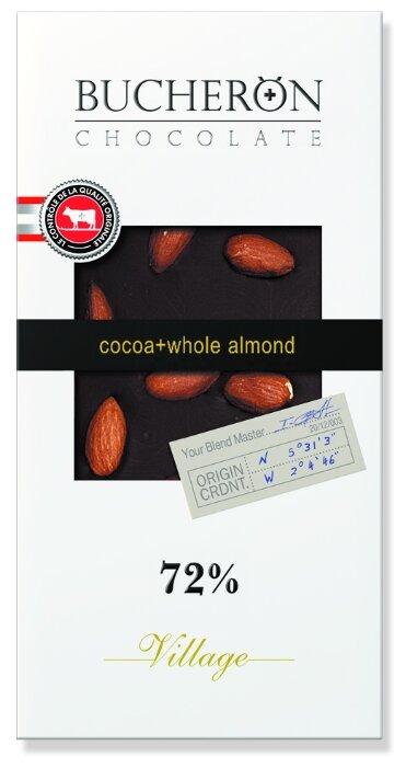 Шоколад Bucheron Village горький с миндалем, 100 г