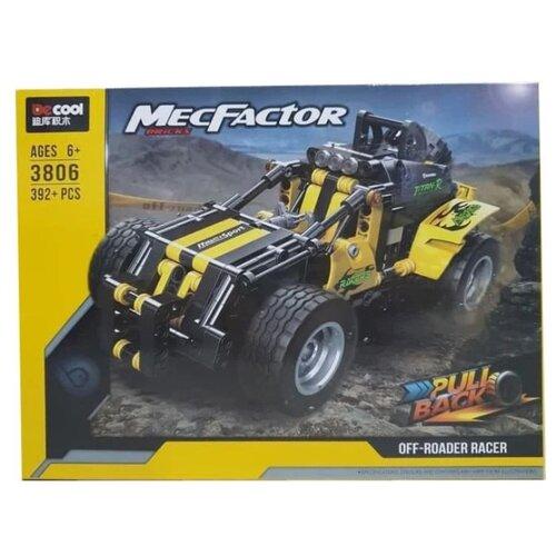 Купить Конструктор Jisi bricks (Decool) MecFactor 3806 Внедорожный гонщик, Конструкторы