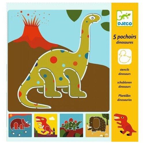 Набор трафаретов DJECO Динозавры (08863)
