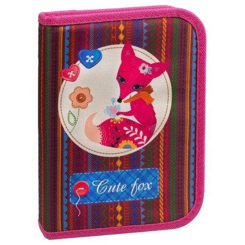 Купить Berlingo Пенал Foxy (PK05820) розовый, Пеналы
