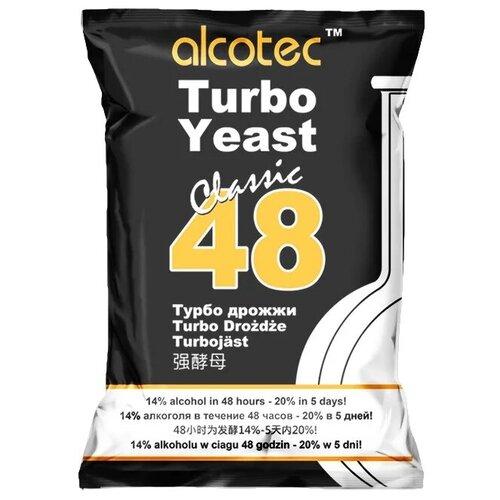 Дрожжи Alcotec спиртовые 48 Classic turbo 130 г