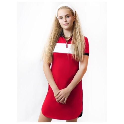 Платье Nota Bene размер 152, красный платье oodji ultra цвет красный белый 14001071 13 46148 4512s размер xs 42 170