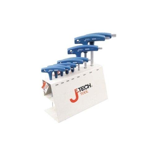 цены Набор инструментов JETECH (8 предм.) TPS-C8 синий
