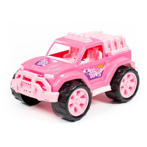 Внедорожник Полесье Легион №4 (78278) розовый машинка полесье легион 4 пограничный 76304