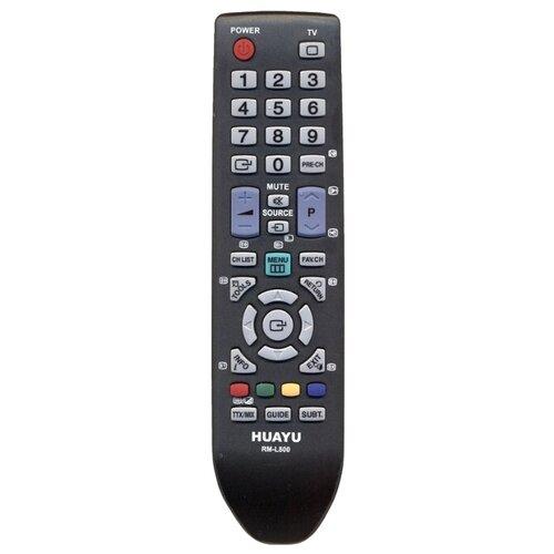 Фото - Пульт ДУ Huayu RM-L800 для телевизоров Samsung черный пульт ду huayu rm l919 для lcd led tv samsung черный