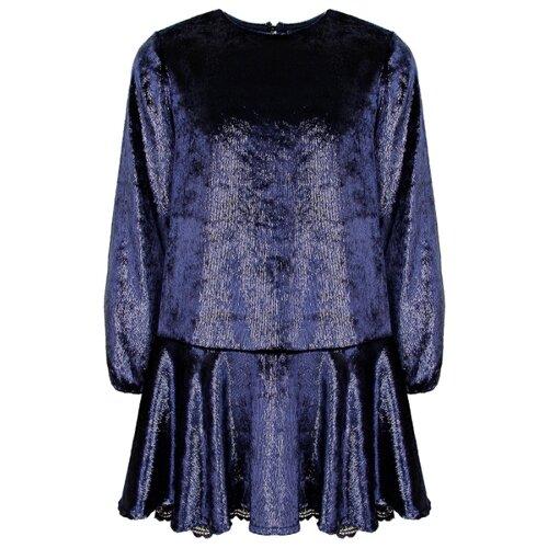 Купить Платье Ermanno Scervino размер 164, синий, Платья и сарафаны