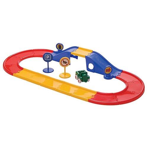 Трек Viking Toys Дорога с мостом 45518