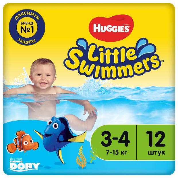 Купить Huggies трусики-подгузники для плавания Little Swimmers 3-4 (7-15 кг) 12 шт. в Славгороде с доставкой из интернет-магазина