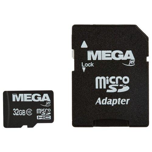 Фото - Карта памяти ProMega jet microSDHC UHS-I Cl10 + адаптер, PJ-MC-32GB pj wx4152n