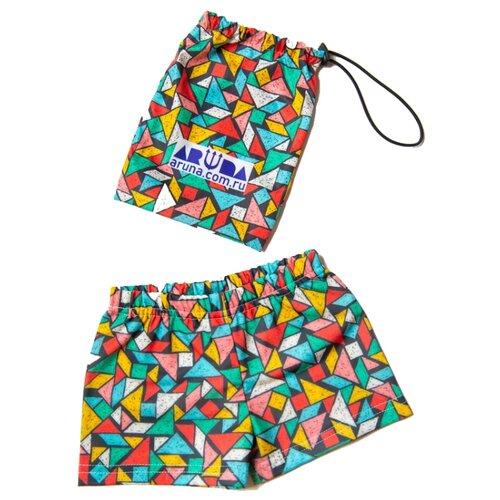 Купить Плавки Aruna размер 122-134, мозаика, Белье и пляжная мода
