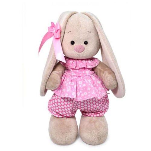 Купить Мягкая игрушка Зайка Ми в комбинезоне с баской 32 см, Мягкие игрушки