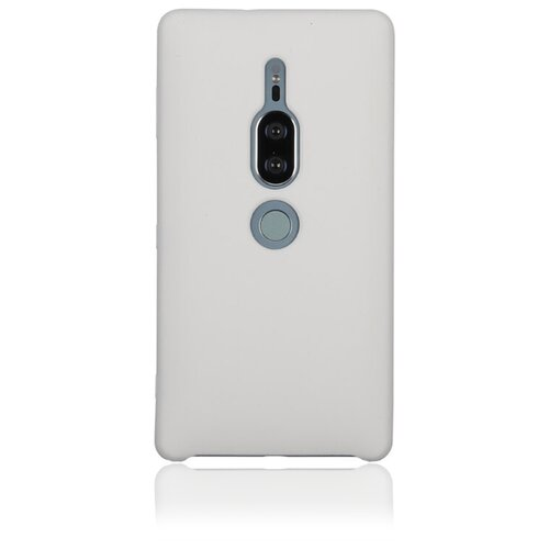 Чехол Rosco XZ2P-SOFTRUBBER для Sony Xperia XZ2 Premium белый