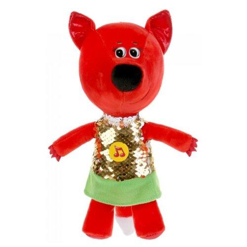 Купить Мягкая игрушка Мульти-Пульти Ми-ми-мишки Лисичка в платье из пайеток 20 см, с чипом, Мягкие игрушки