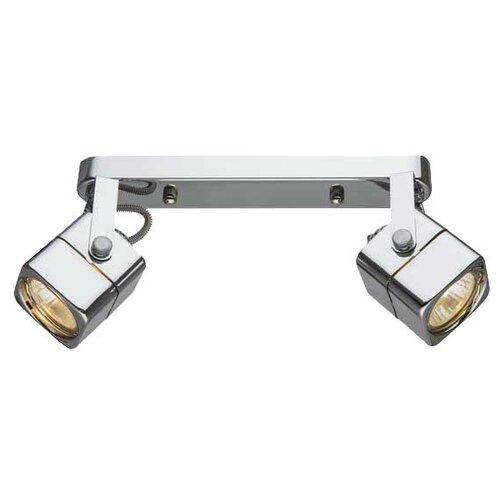 Спот Arte Lamp Lente A1314PL-2CC, 100 Вт, 2 лампы недорого