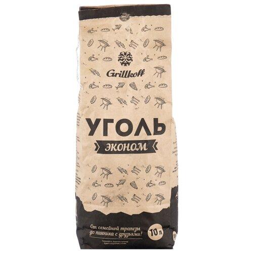 Grillkoff Уголь древесный для гриля «Эконом», 10 л