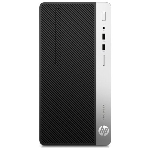 Настольный компьютер HP ProDesk 400 G6 MT (7PG56EA) Mini-Tower/Intel Core i7-9700/16 ГБ/512 ГБ SSD/AMD Radeon R7 430/Windows 10 Pro черный/серебристый