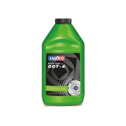 Тормозная жидкость LUXE DOT-4 1 л тормозная жидкость zalmer dot 4 0 91 л