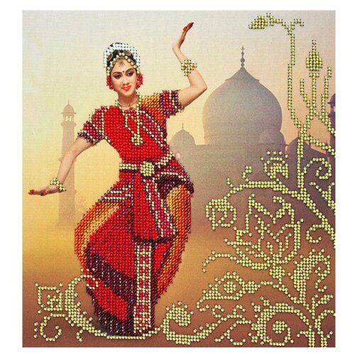 Купить Созвездие Набор для вышивания бисером Индия 22 х 28 см (АГД-102), Наборы для вышивания