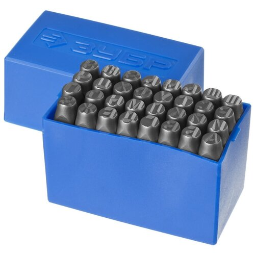 Набор клейм ЗУБР 21503-08_z01 (32 шт.) набор клейм зубр 21501 06 z01 9 шт