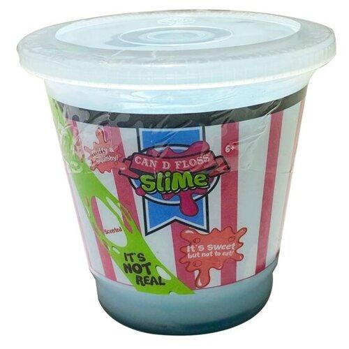 Жвачка для рук Junfa toys Can D Floss Slime голубой