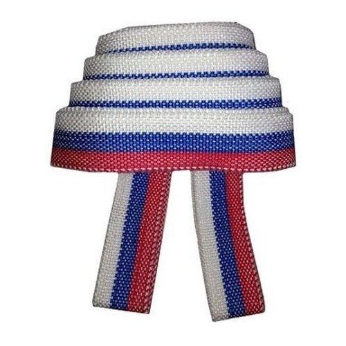 Ленточный буксировочный трос Сигма 9164928 5 м (12 т) белый/красный/синий