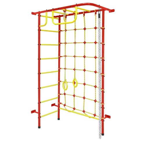 Купить Спортивно-игровой комплекс Пионер 8М красный/желтый, Игровые и спортивные комплексы и горки