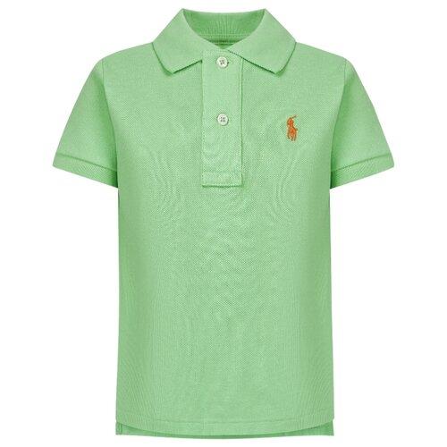 Купить Поло Ralph Lauren размер 74, зеленый, Футболки и рубашки