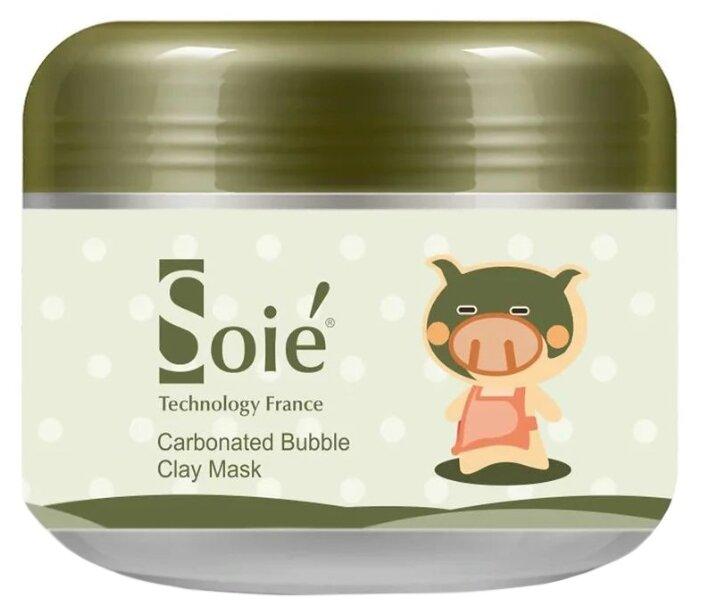 SOIE Carbonated Bubble Clay Mask очищающая кислородная маска на основе вулканической грязи