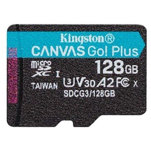 Фото - Карта памяти Kingston SDCG3/128GBSP черный карта памяти