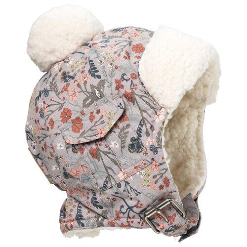 Ушанка Elodie размер 6-12 мес, Vintage flower ушанка elodie размер 0 6 мес paris check
