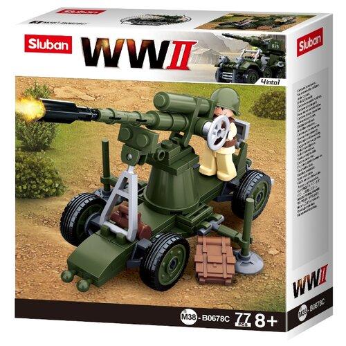 Купить Конструктор SLUBAN WW2 M38-B0678C, Конструкторы
