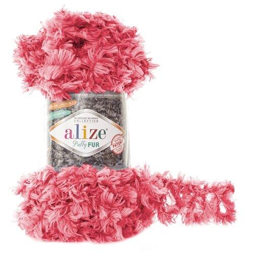 Пряжа Alize Puffy Fur (6115) 5 шт.