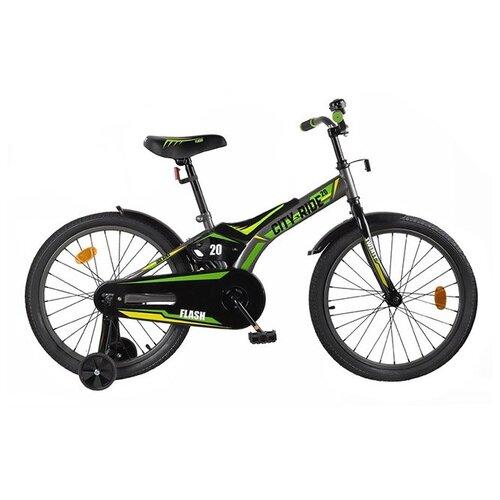 цена на Детский велосипед CITY-RIDE Flash 20 (CR-B2-0320) серый (требует финальной сборки)