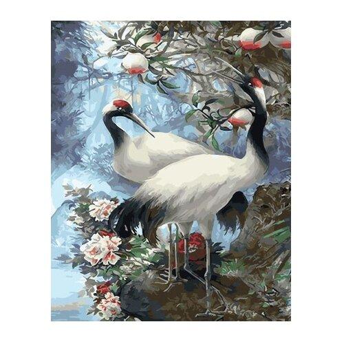 Купить ВанГогВоМне Картина по номерам Журавлиная весна , 40х50 см (ZX 21545), Картины по номерам и контурам