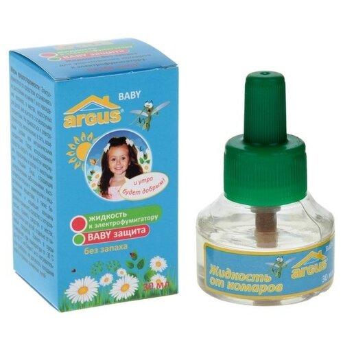 Жидкость для фумигатора ARGUS BABY от комаров, 30 мл, 30 ночей