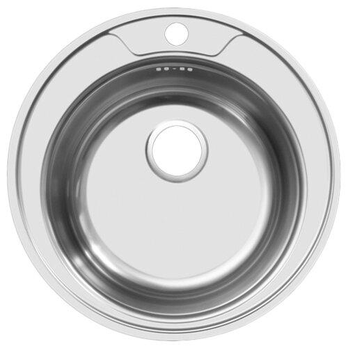 Врезная кухонная мойка 49 см UKINOX Favorit FAD490 --6K 0C FAD490 -6K 0C нержавеющая сталь матовая