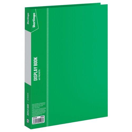 Фото - Berlingo Папка с 60 вкладышами Standard A4, пластик зеленый berlingo папка со 100 вкладышами standard a4 пластик синий