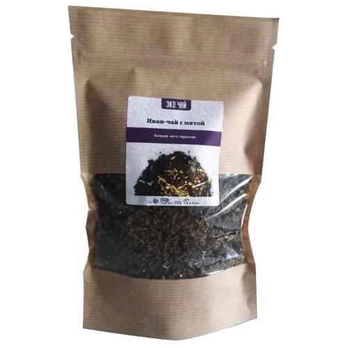 Фото - Чай травяной Эко чай Иван-чай с мятой , 100 г чай