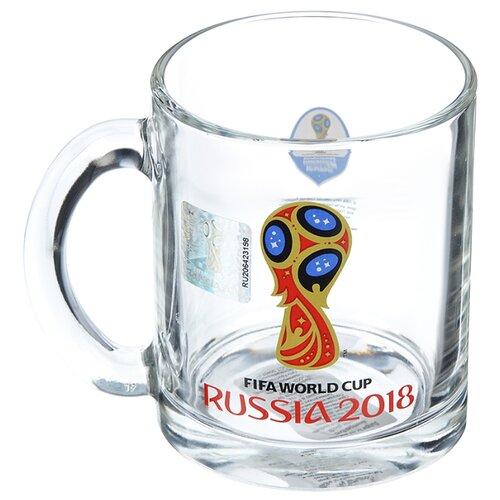 ОСЗ Кружка Эмблема FIFA World Cup Russia, 320 мл прозрачный fifa world cup russia 2018 пазл города москва 03795