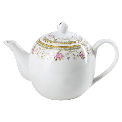 Доляна Чайник заварочный Розали 800 мл, белый доляна чайник заварочный восточная ночь 600 мл зеленый