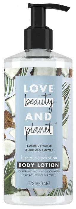 Лосьон для тела Love Beauty and Planet Соблазнительное увлажнение