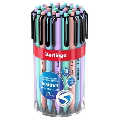 Купить Berlingo Набор шариковых ручек Instinct, 0.5 мм, 30 шт., синий цвет чернил, Ручки