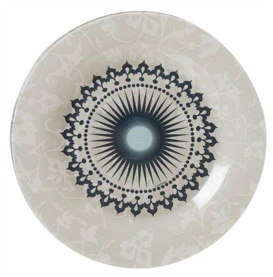Luminarc Тарелка обеденная Luniere 25 см бежевый